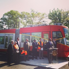 DDOT Director Terry Bellamy discussing DC Streetcar