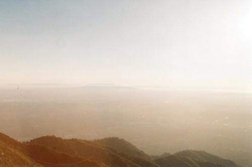 Hazy LA Basin