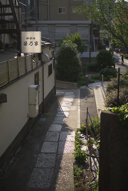 神楽坂路地裏散歩