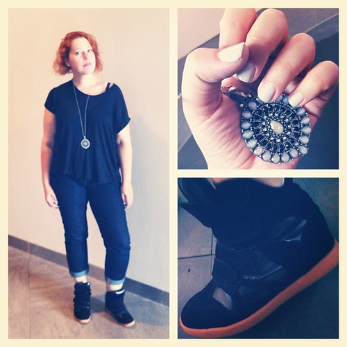 #lookoftheday #lookbook #aotd #me #selfshot #styleoftheday #isabelmarant #marant #marants #marantshoes #marantsneakers #forever21 #gap