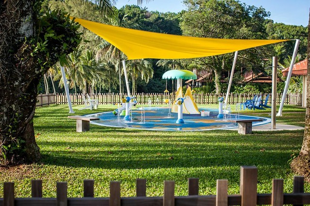One of Club Med Cherating's new treasures - Baby Splash