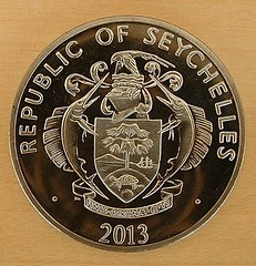Seychelles Pope coin reverse