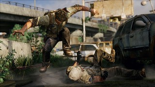 The Last of Us for PS3 -  joel stomps hunter
