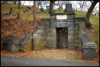 Old Tomb  in Nyack,NY.