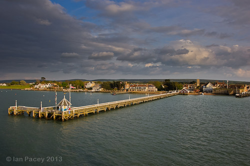 Evening Light on Yarmouth Town