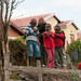 Kids Goofing Off in Masiphumelele - Cape Town, South Africa