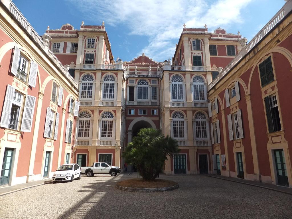 Royal Palace in Genoa