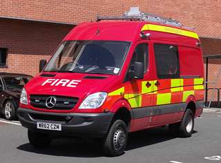 South Yorkshire Fire & Rescue Service Mercedes Sprinter Small Fires Unit