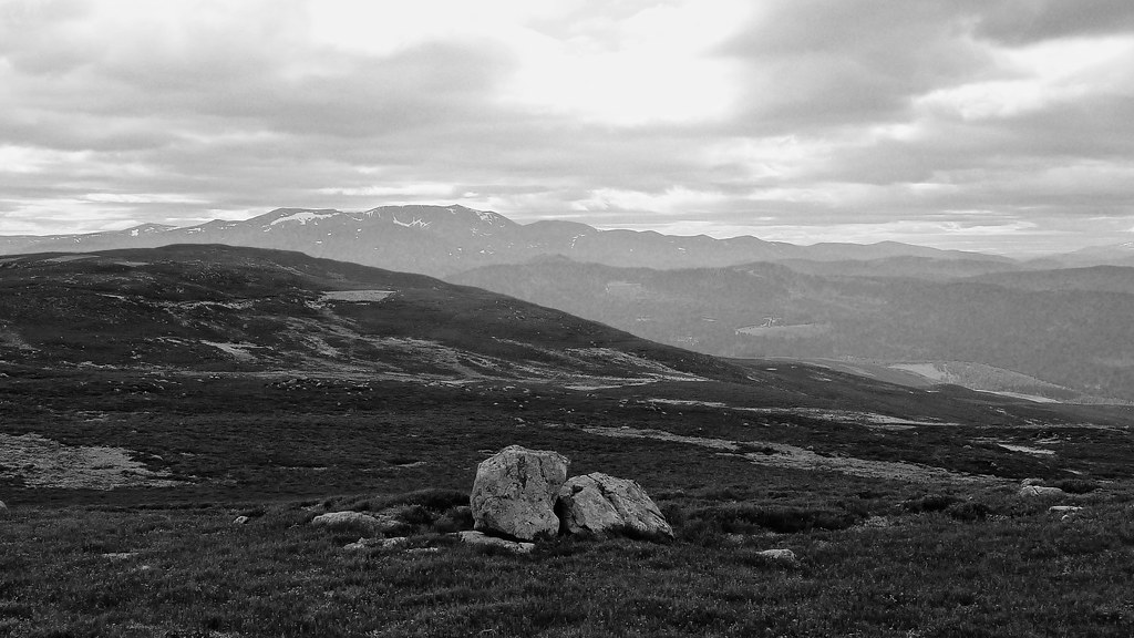 Lochnagar from Pannanich Hill