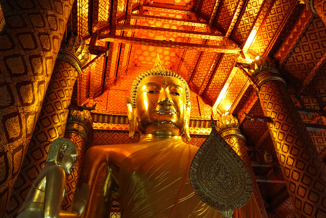 Wat Phanan Choeng - Ayutthaya, Thailand