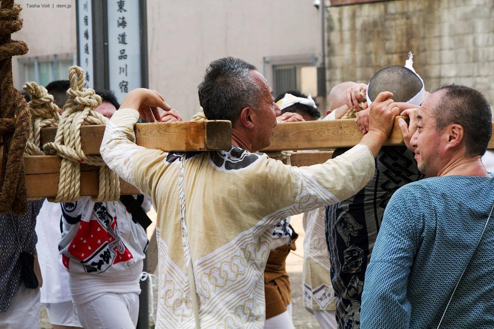 Omikosi is very heavy.