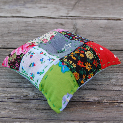 patchwork pincushion #2