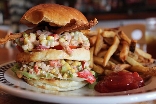 McClaw Club Lobster Salad BLT
