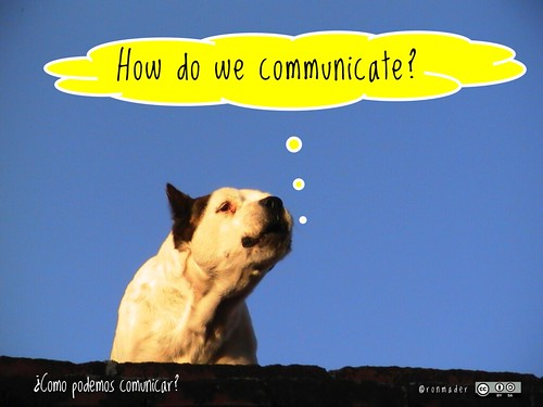 How do we communicate? = ¿Como podemos comunicar? #roofdog