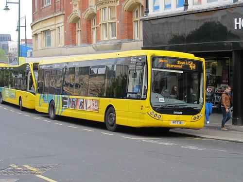 SA17 R17TYB Yellow Buses Optare Tempo
