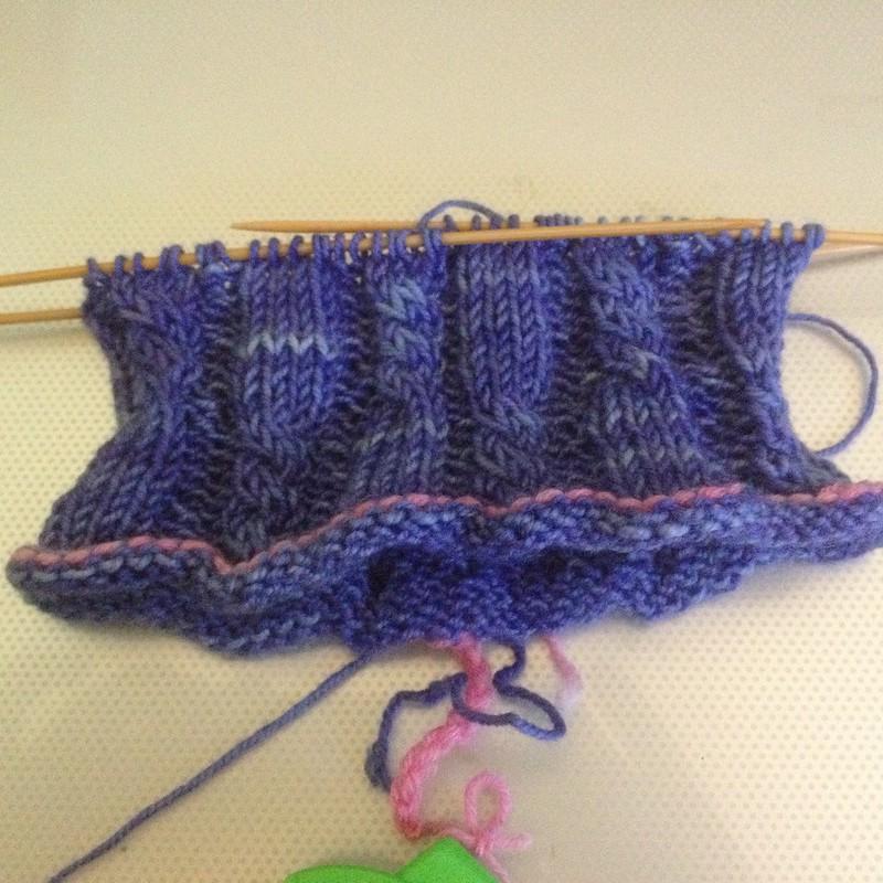 Blue Moon Socks