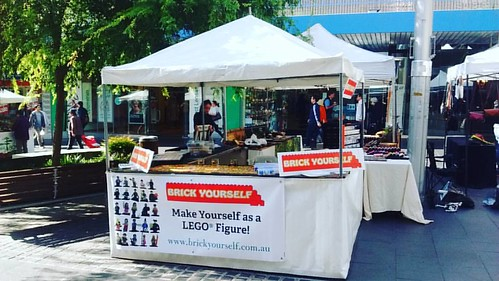 Brick Yourself Live @ Chatswood Markets today! #brickyourself #chatswoodmarket #brickmandan #lego #makeyourselfinlego | by BrickManDan
