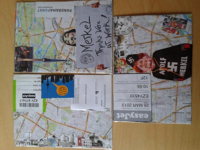 Postales DIY de Berlín