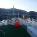 leaving Bergen on the bookboat