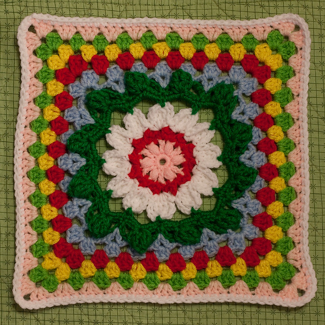 Sunflower Throw Square