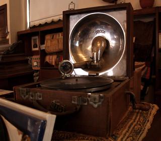 Handcranked phonograph crank