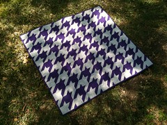 Finished Houndstooth!