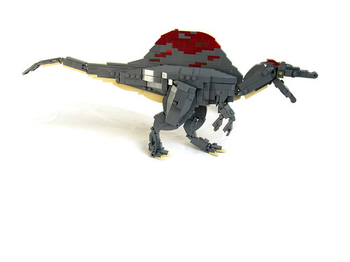 Spine lizard the brothers brick the brothers brick - Lego dinosaurs spinosaurus ...