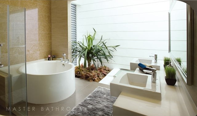 The Effingham - Master Bathroom