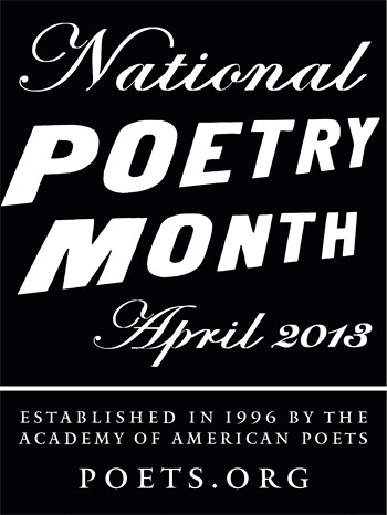 National Poetry Month was established in 1996 by the Academy of American Poets.