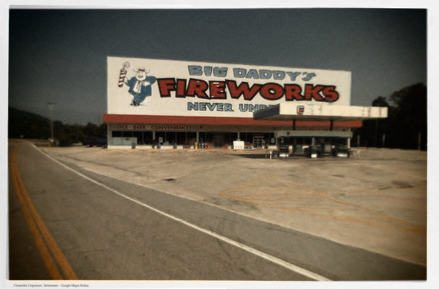 Fireworks Emporium, Tennessee - Google Maps Redux