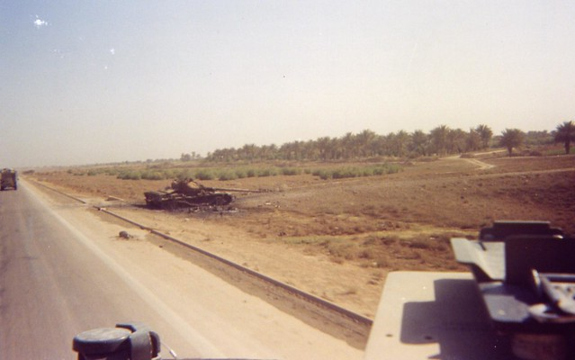 Destroyed T72