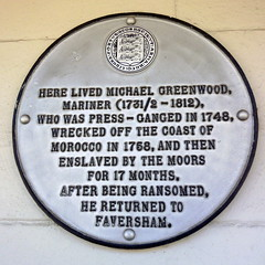 Photo of Michael Greenwood white plaque