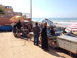 Image of Taghazout Sandy beach. beach surf surfing agadir morocco taghazout