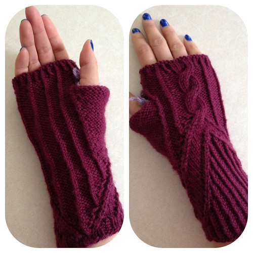 Clue two -- Grand Right & Left mystery mitts