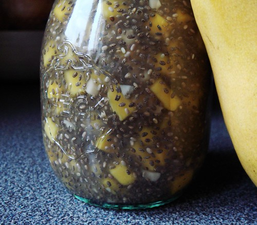 Chia Coconut Water with Mango