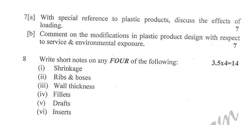 DTU Question Papers 2010 – 6 Semester - End Sem - PT-312