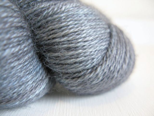 Exquisite Sock yarn in Silhouette, by Lioness Arts | Emma Lamb