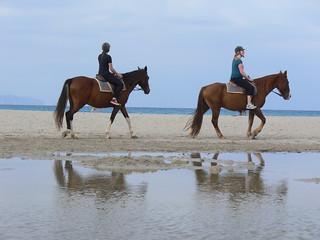 excursion montar a caballo en la playa