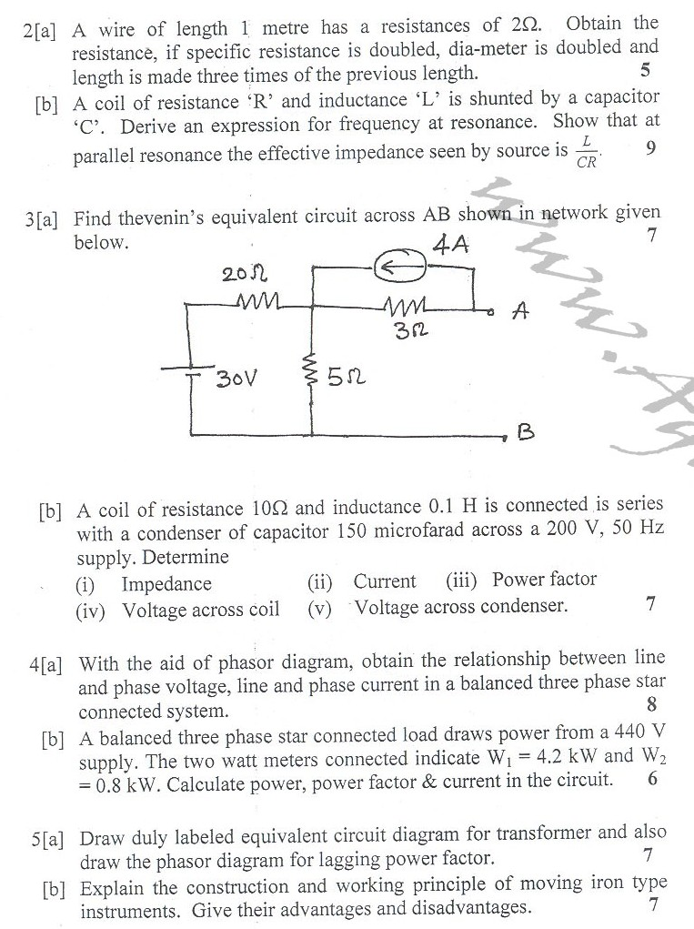 DTU Question Papers 2010 – 2 Semester - End Sem - IT-111