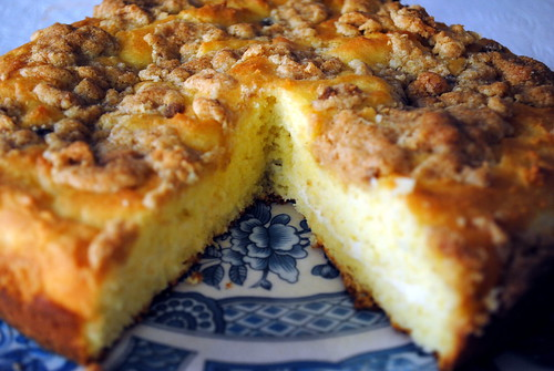 Gluten-Free Cheese-Filled Coffee Cake