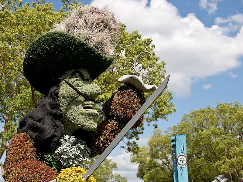 Epcot International Flower & Garden Festival 2013