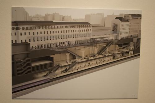 Crossrail station at Paddington