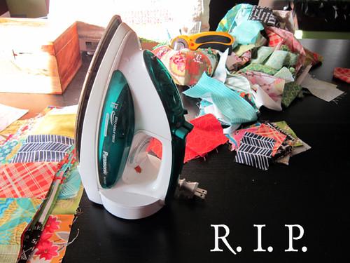 R.I.P. dear iron