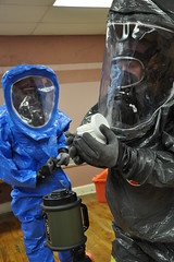 personal protective equipment, clothing, hazmat suit,