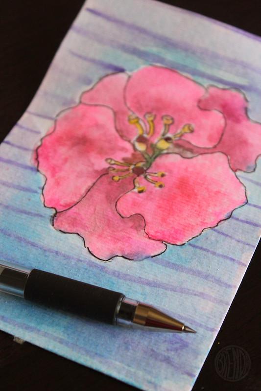 details in pen