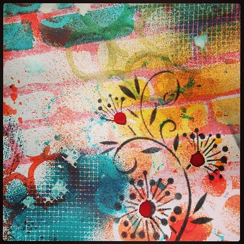 Art Journaling Page 2