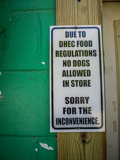 No Dogs in the Store