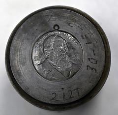 McCormick Reaper Centennial medal die
