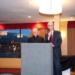 Chaplain Gill with MC