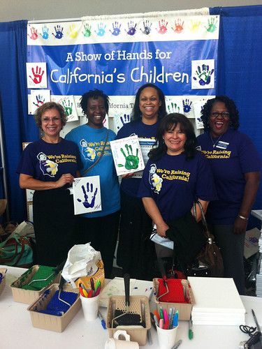 Child care providers who came out to volunteer